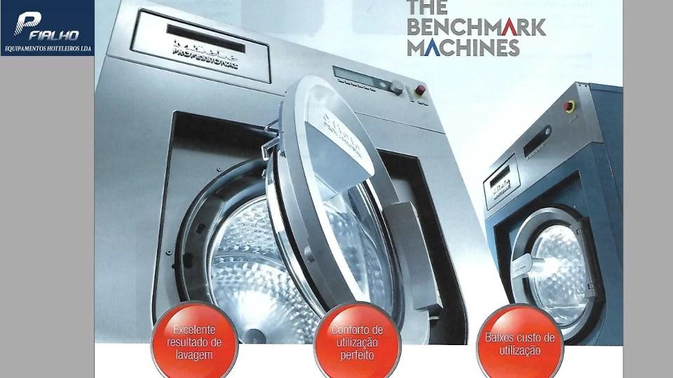 Novos Equipamentos Lavandarias Self Service – Miele Benchmark
