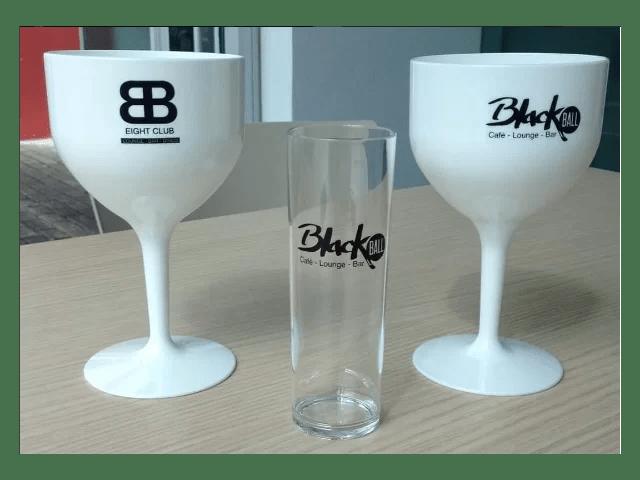 Rinocup, copos transparentes ou opacos