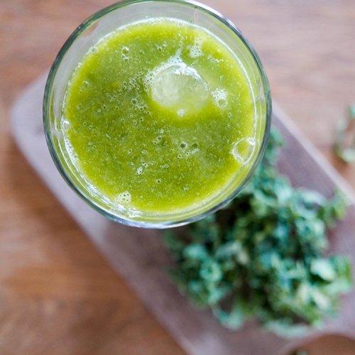 smoothie med grönkål