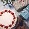 Chokladtårta med rosa frosting