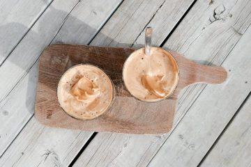 Dalgona kaffe iskaffe