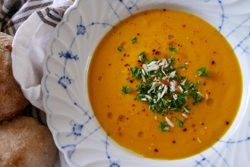 Morotssoppa med ingefära