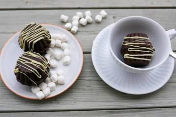 Chokladbomb med marshmallows