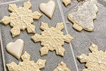 Julkakor sugarcookies