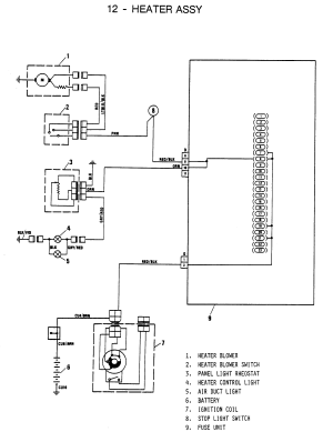 Fiat 124 Wiring Diagram | Wiring Library