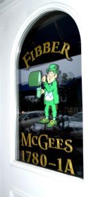 Fibber's Door Logo