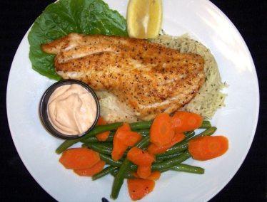 Grouper Dinner- Fibbers