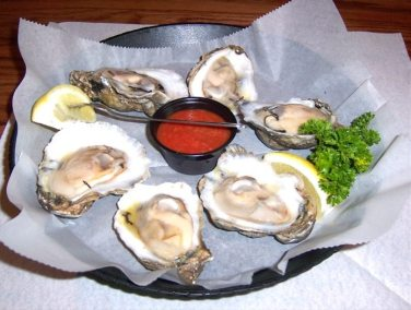Oysters on the Half Shell- Fibbers