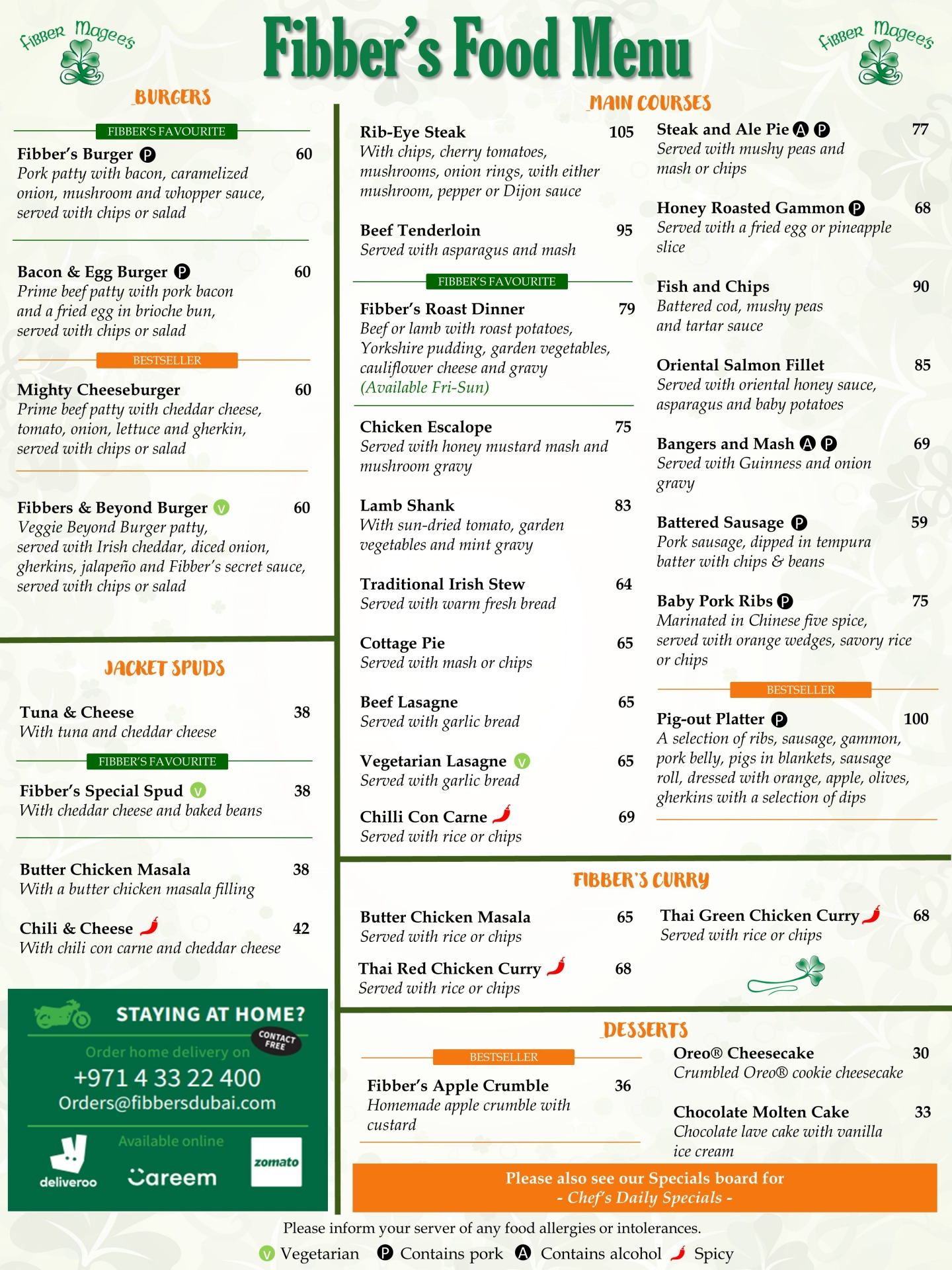 Food menu pg2