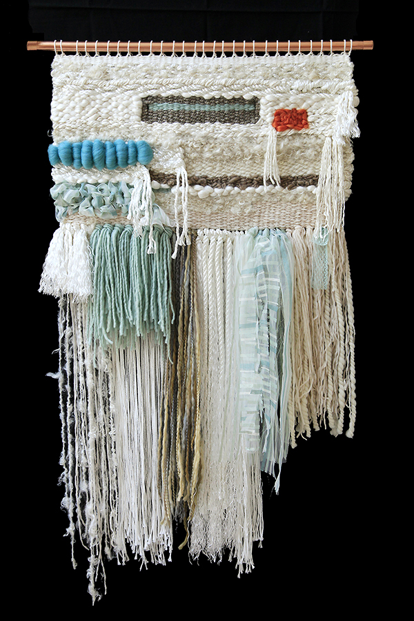 """Wall Appeal"" weaving by Estelle Jackson"