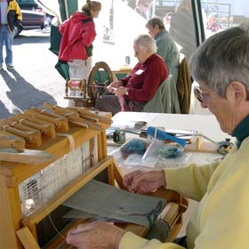 Mary Weaving Demonstration