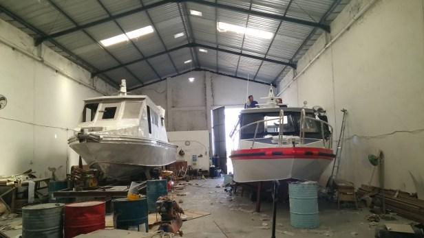 produksi speed boat aluminium