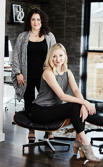 Beth and Carolina - Design Studio