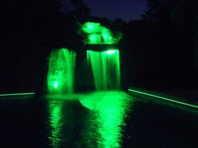 Fiber Optic Waterfall