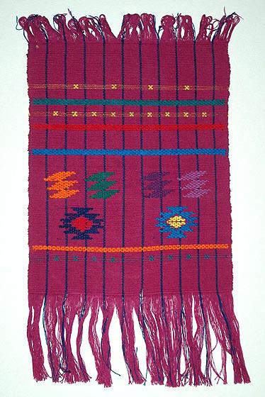 Backstrap weaving of Guatemala