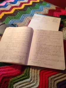 Quad Ruled Notebook