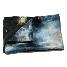 Foulard galaxie Bleue. Nébulose planétaire NGC 5189.