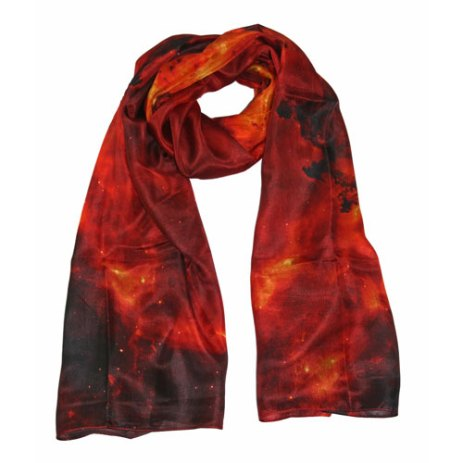 Foulard Galaxie Rouge. Nébuleuse Rosette - NGC 2237