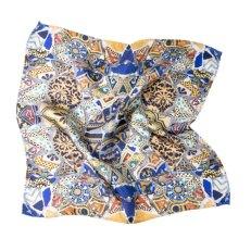 Pochette de seda para hombre Gaudi mosaico