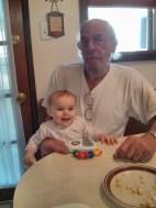 Nora loves her Grampa B!