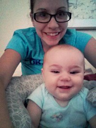 Mornings are fun with Nora bean!