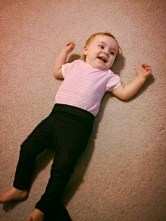 Playing on the floor!
