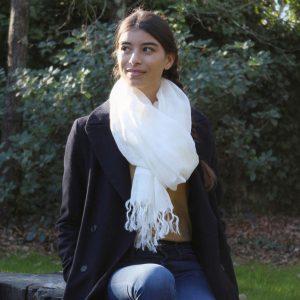 Aman I 100% linen scarf