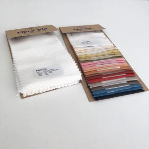 Fabric and natural colour sample sets
