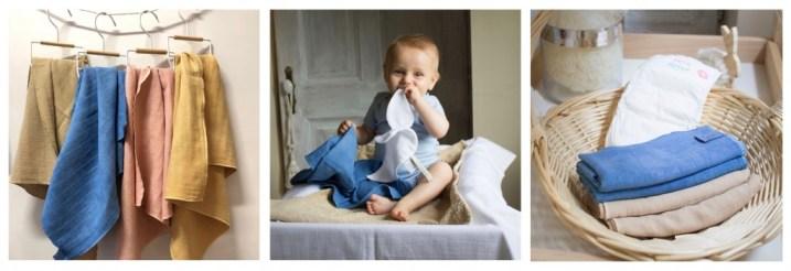 Langes bébé Pain d'alouette