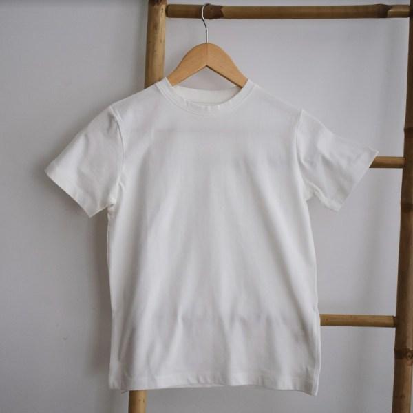 Tshirt garçon manches courtes blanc