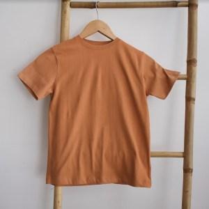 Tshirt garçon manches courtes orange