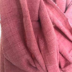 Echarpe Soie Sauvage Cherry Pink