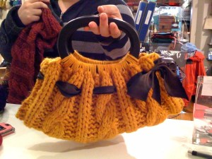 chunky purse