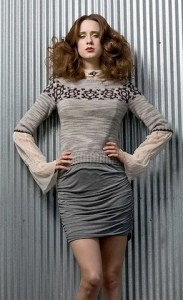 Steampunk Pullover by Julia Farwell-Clay