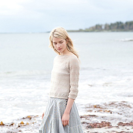 Perkins Cove Pullover by Pam Allen (Photo © Carrie Bostick Hoge)