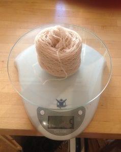 Final weight 5g