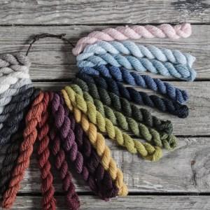 Woolstok color range. (Photo by Blue Sky Fibers)