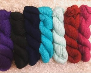 new worsted cotton colors