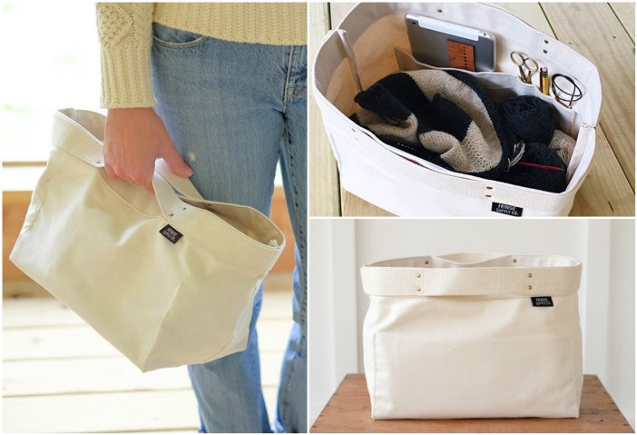 The Porter Bin is the latest project bag from Fringe Supply Co. (Photos courtesy Fringe Supply Co.)