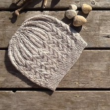 Stones on the Beach Hat, © jknightknits