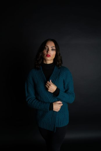 Paraiba Cardigan by Nadya Stallings for JEWELS-2
