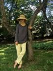 The Sweatshirt in Loopy Mango Summer