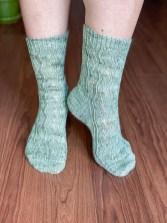 Ribbon Dance Socks