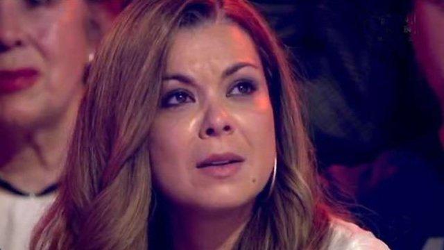 María José Campanario, ingresada por una crisis de fibromialgia