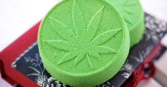 Bathing in Cannabis with CBD Bath Bombs! Great for Fibromyalgia and Improving Sleep