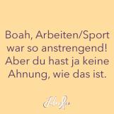 Fibromyalgie-Bullshit-Bingo Vol. 13: Boah, Arbeiten/Sport war so anstrengend! Aber du hast ja keine Ahnung, wie das ist.