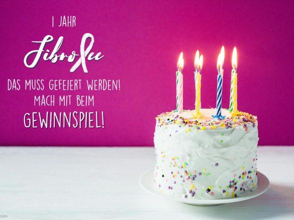 1 Jahr FibroFee – das muss gefeiert werden! Mach mit beim Gewinnspiel!