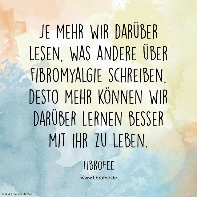 """Zitat """"Fibromyalgie schreiben"""""""