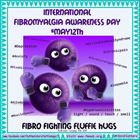 International Fibro awareness May 12th 2017 fibro fighting fluffs PHOTOTASTIC