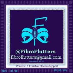 FibroFlutters fancy logo